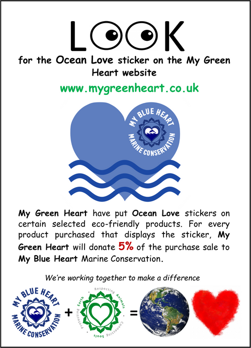 My Green Heart Donates To My Blue Heart