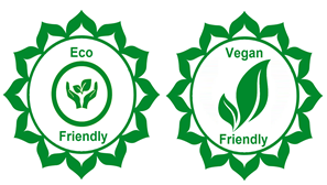 Eco-friendly and vegan friendly