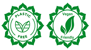 plastic free and vegan friendly