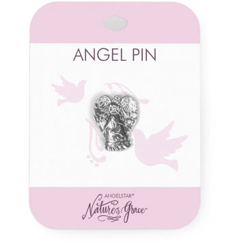 Angel Pin - Peace - My Green Heart
