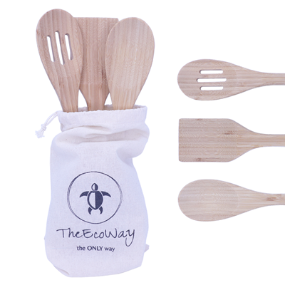 Bamboo Kitchen Utensils - My Green Heart