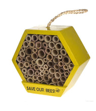 Load image into Gallery viewer, Wooden Bee House