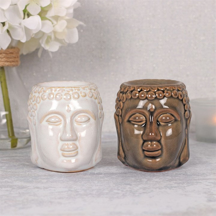 Buddha Head Oil Burner - My Green Heart