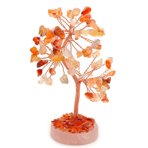 Carnelian Gem Tree - My Green Heart