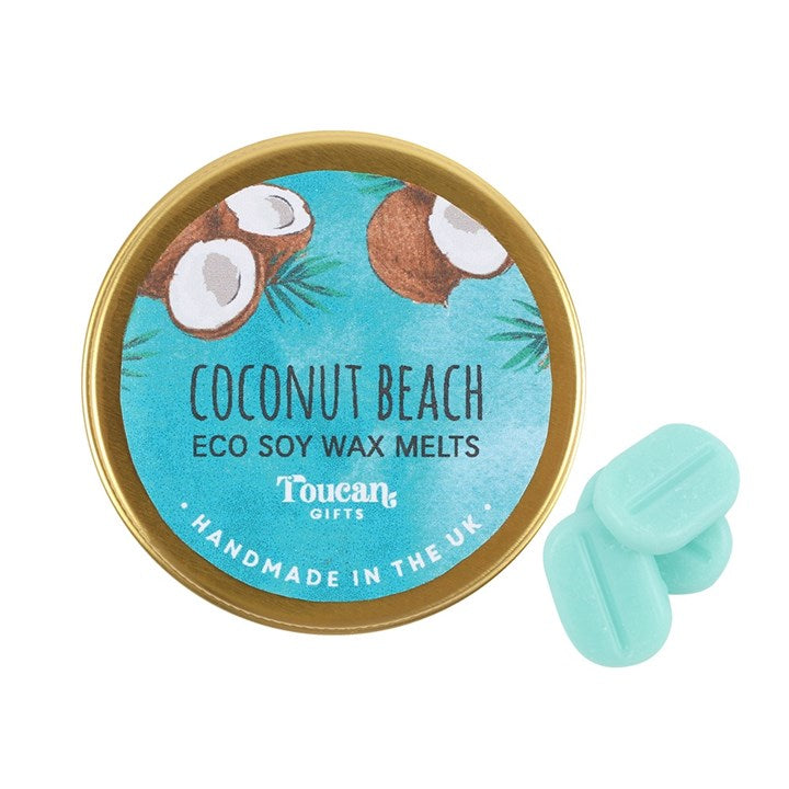 Coconut Beach Eco Soy Candle Melts - My Green Heart