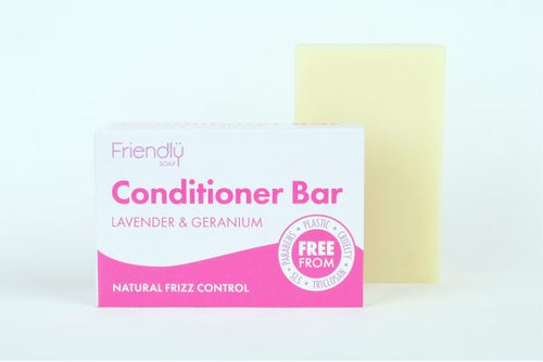 Lavender & Geranium Conditioner Bar - My Green Heart