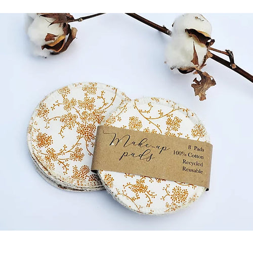 Recycled Cotton Make-up Pads - My Green Heart