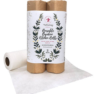 Reusable Bamboo Kitchen Roll (Double) - My Green Heart