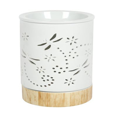 Dragonfly Matte Ceramic Oil / Wax Burner