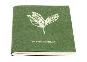 Recycled Dung & Tea Paper Notebooks - My Green Heart