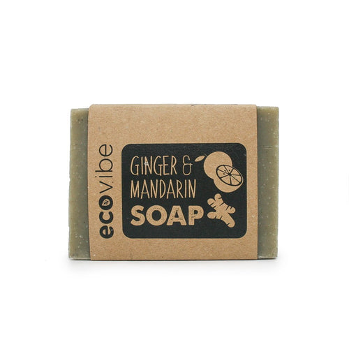 Ginger and Mandarin Soap - My Green Heart