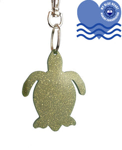My Blue Heart Keyrings - Turtle - 11 colours available