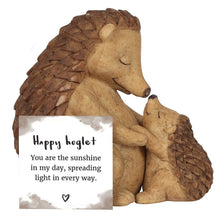 Load image into Gallery viewer, Mother and Baby Hedgehog Ornament - My Green Heart