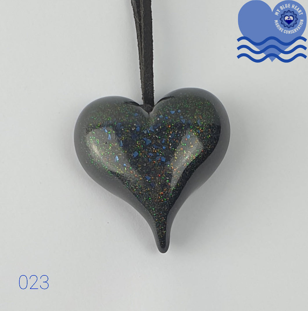 My Blue Heart Necklaces - Small Heart - 5 designs available