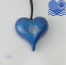 Load image into Gallery viewer, My Blue Heart Necklaces - Large Heart - 5 designs available