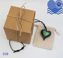 Load image into Gallery viewer, My Blue Heart Necklaces - Small Heart - 5 designs available