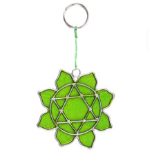 Load image into Gallery viewer, Mini Suncatcher - Heart Symbol - My Green Heart