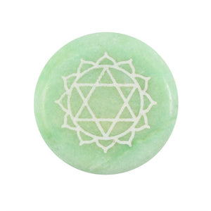 Meditation Stone - Heart Chakra - My Green Heart