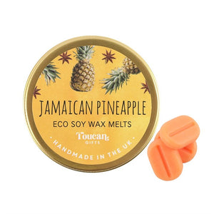 Jamaican Pineapple Eco Soy Candle Melts - My Green Heart