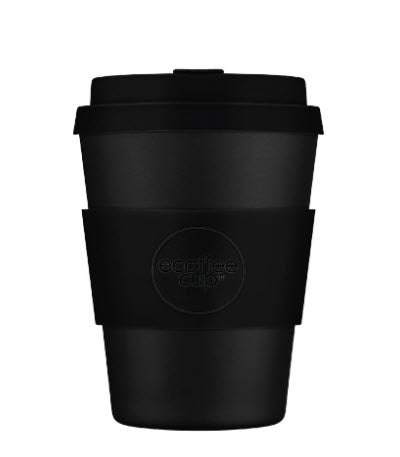 Reusable Travel Cup 12oz Black