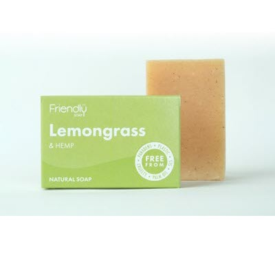 Lemongrass & Hemp Soap - My Green Heart