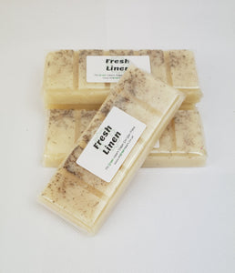 My Green Heart Soy Wax Melt bar - Fresh Linen with Lavender