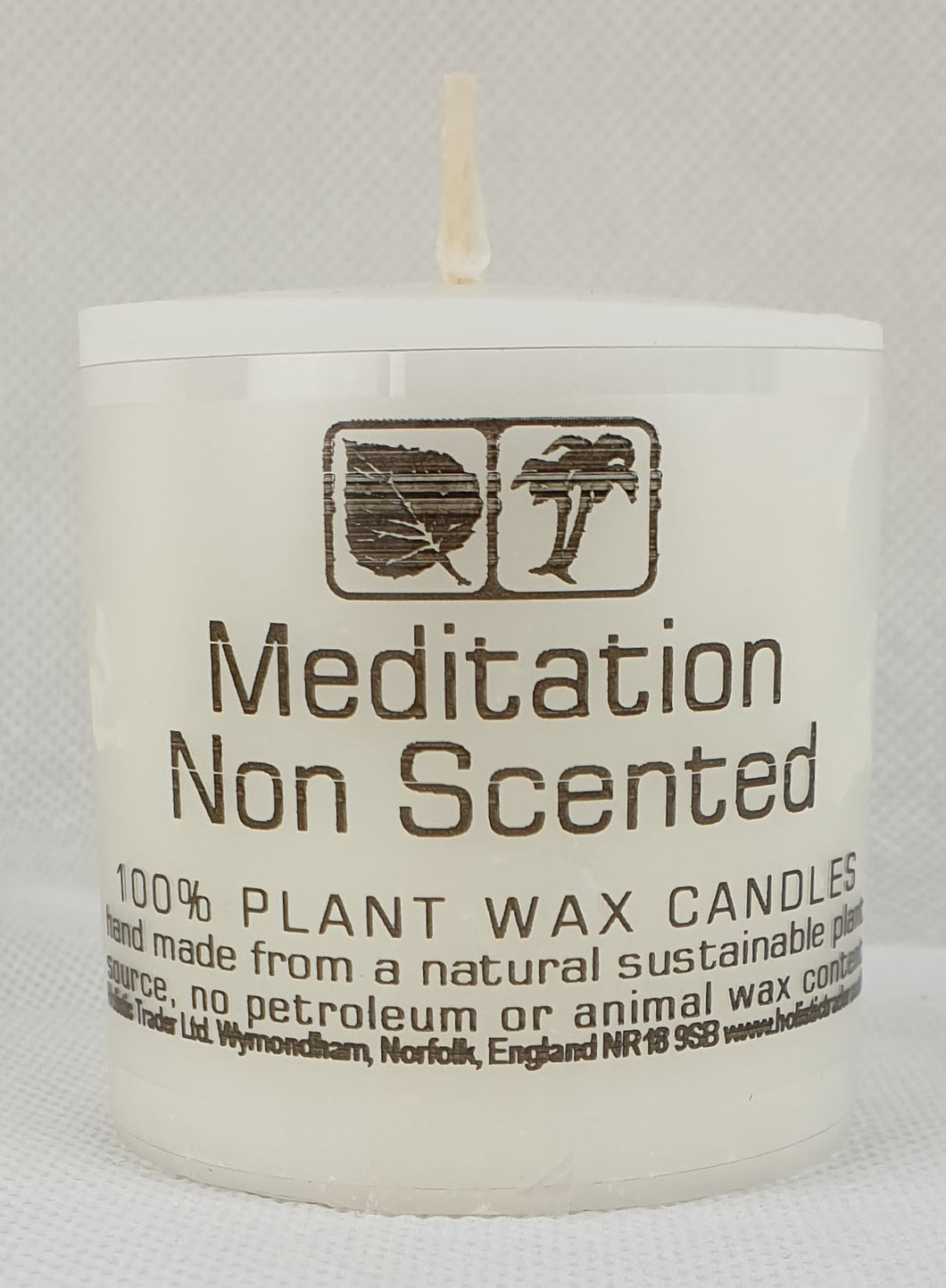 Non Scented Meditation Candle