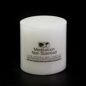 Non Scented Meditation Candle - My Green Heart