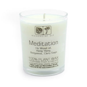 Votive Candle - Meditation - My Green Heart