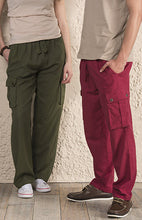 Load image into Gallery viewer, Cotton Trousers with Pockets - 3 colours available