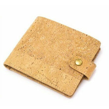 Load image into Gallery viewer, Men's Cork Wallet - My Green Heart