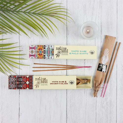 White Sage and Dragon's Blood Incense Sticks - My Green Heart