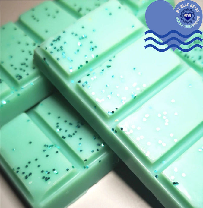 My Blue Heart Soy Wax Melt bar - Ocean Love