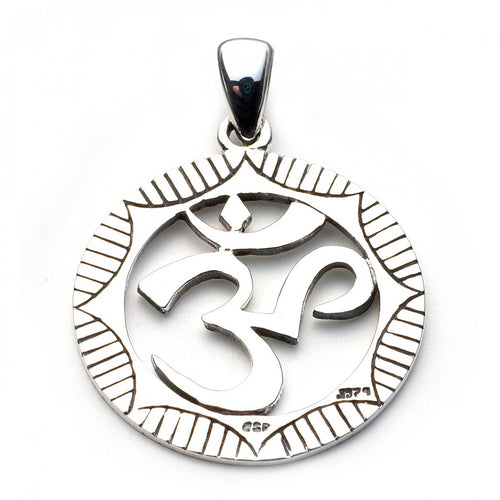 Om Symbol Pendant - My Green Heart