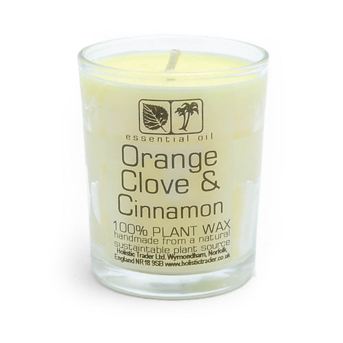 Votive Candle - Orange, Clove & Cinnamon - My Green Heart