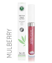 Load image into Gallery viewer, 100% Pure Organic Lip Gloss - 13 shades - My Green Heart