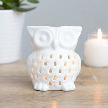 Load image into Gallery viewer, Owl Oil / Wax Burner - 2 colours available