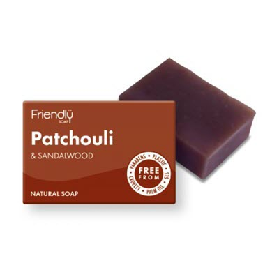 Patchouli & Sandalwood Soap - My Green Heart