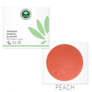 Pressed Mineral Blusher +SPF15 - 7 shades - My Green Heart