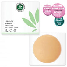 Load image into Gallery viewer, Pressed Mineral Bronzer +SPF15 - 2 shades - My Green Heart