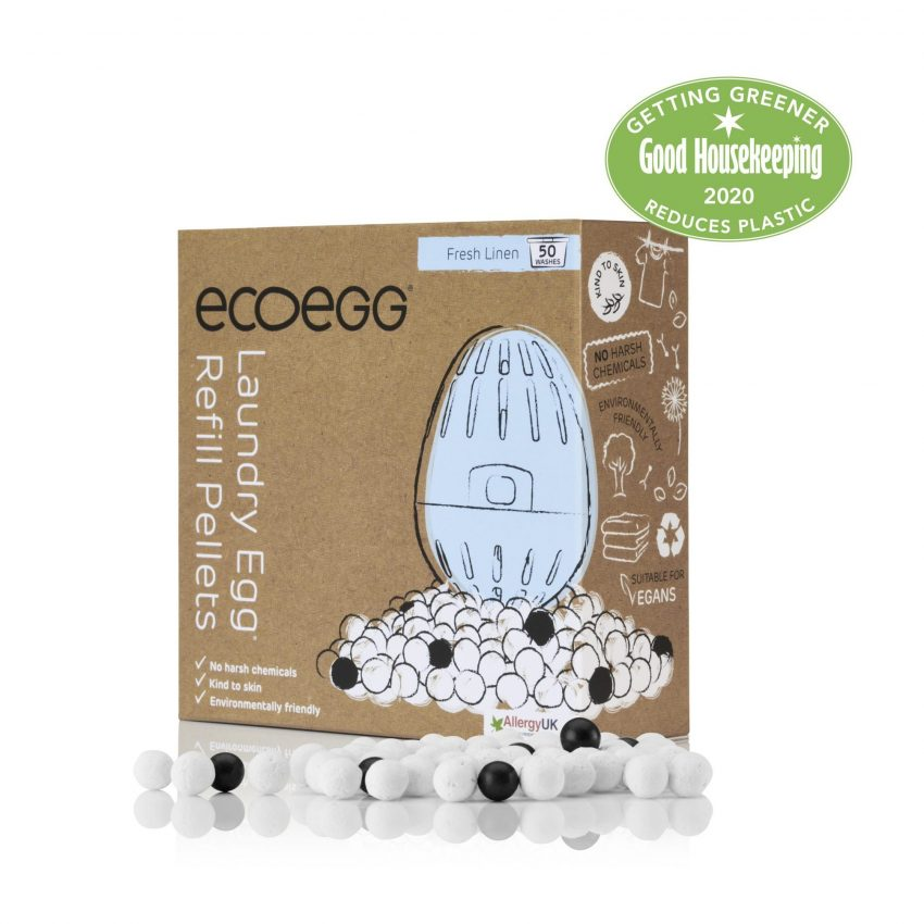 Ecoegg Laundry Egg Refill Pellets (50 washes) - 3 fragrances available - My Green Heart
