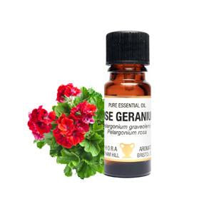 Rose Geranium Essential Oils - 10ml - My Green Heart
