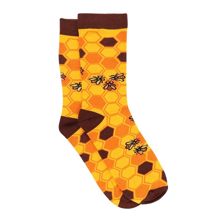 Save Our Bees Bamboo Socks - 2 sizes available - My Green Heart
