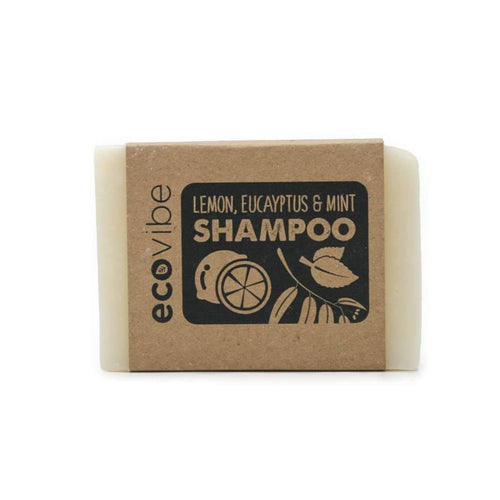 Lemon, Eucalyptus & mint Shampoo Bar - My Green Heart
