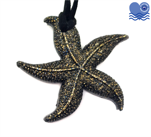 My Blue Heart Starfish Necklace - 3 colours available