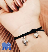 Load image into Gallery viewer, My Blue Heart Charm Wrist/Ankle Bracelet - 3 designs available