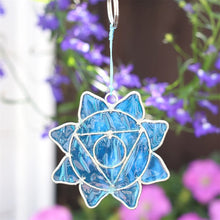 Load image into Gallery viewer, Mini Suncatcher - Throat Symbol - My Green Heart