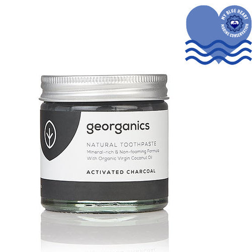 Natural Mineral-rich Plastic Free Toothpaste - Activated Charcoal