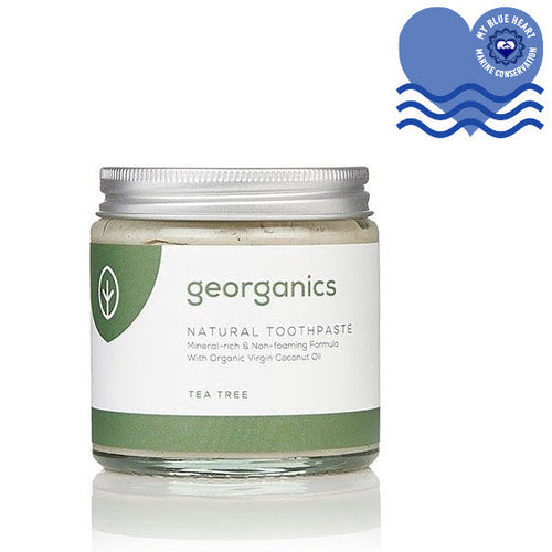 Natural Mineral-rich Plastic Free Toothpaste - Tea Tree