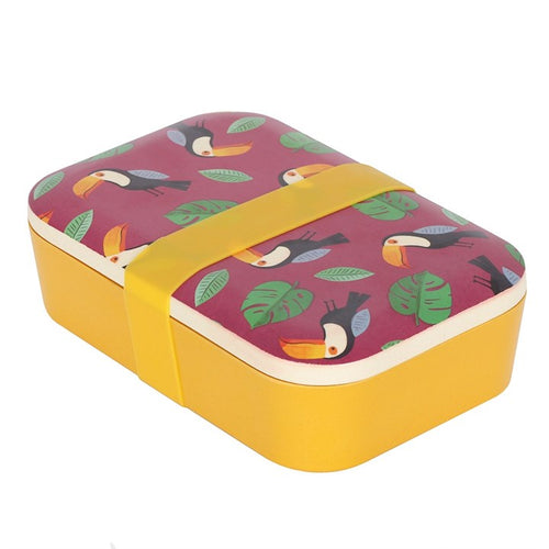 Toucan Bamboo Lunch Box - My Green Heart